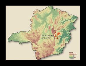 Imagem Serra da Serpentina – Morro do Pilar