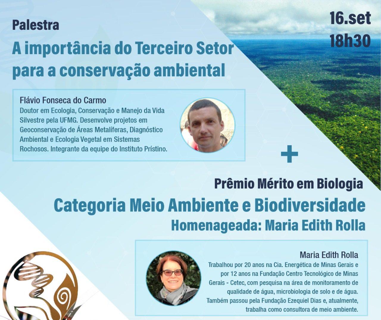 Palestra: A importância do Terceiro Setor para a conservação ambiental